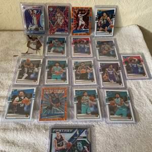 Lot # 159 Lot 2020 Panini Basketball Trading Cards