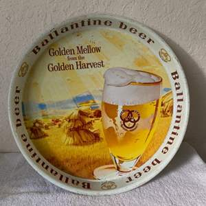 Lot # 165 Nice Early Ballantine Golden Mellow Beer Tray