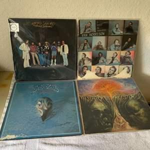 Lot # 167 Great Lot (4) Vintage Vinyls. See Lot #7 For Complete Description