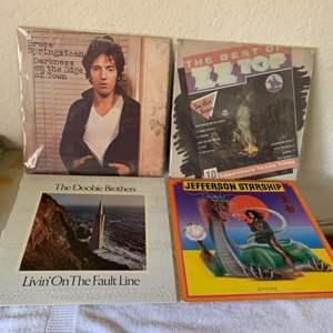 Lot # 169 Great Lot (4) Vintage Vinyls. See Lot #7 Description