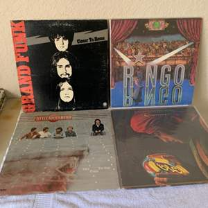 Lot # 170 Great Lot (4) Vintage Vinyls. See Lot #7 Description