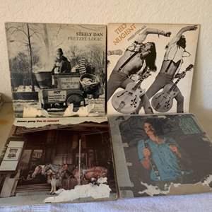 Lot # 172 Great Lot (4) Vintage Vinyls. See Lot 7 Description