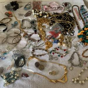 Lot # 191 Another Huge Lot Assorted Wearable Jewelry. See Lot 190 Description