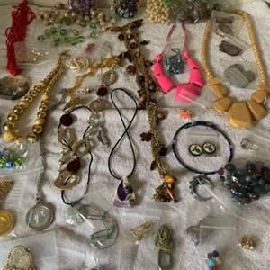 Lot # 192 Huge Lot Assorted Wearable Jewelry. See Lot 190 Description