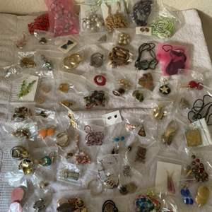 Lot # 195 Huge Lot Assorted Wearable Jewelry. See Lot 190 Description