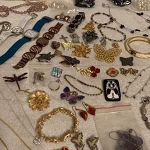 Lot # 200 Huge Lot Assorted Wearable Jewelry. See Lot 190 Description