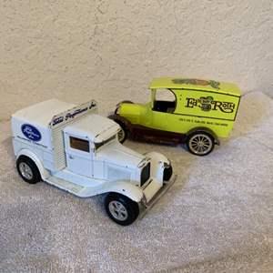 Lot # 213  2 Limited Edition Liberty Classics Diecast Trucks