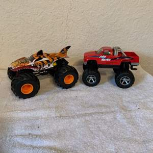 Lot # 221  Lot Two Truck/Hot Rod. Nice Condition