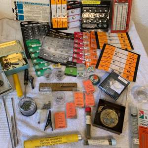 Lot # 232 Huge Assorted Lot Watch Accessories. See All Pics For Description