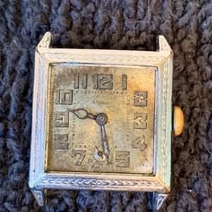 Lot # 234 Vintage Benrus 14K GF Watch For Parts