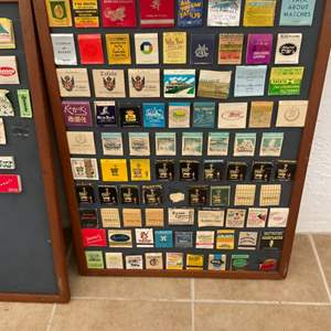 Lot # 253 A Second Great Lot of @225 VINTAGE Matchbooks - From the '40's & '50's! Very Collectible!