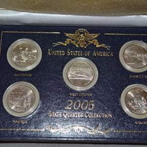Lot # 252 2005 STATE QUARTERS COLLECTION