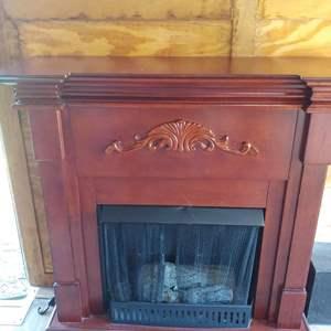 Lot #1 Free Standing Fireplace