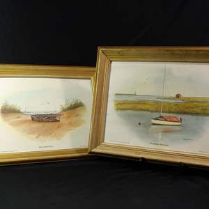 Lot #26 Nautical Framed Prints Jerry Shannon