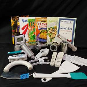 Auction Thumbnail for: Lot # 59 Pampered Chef & More