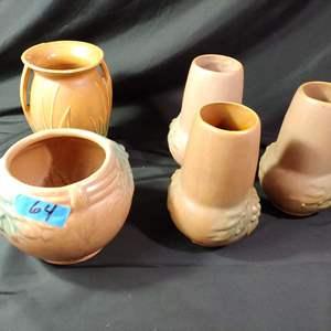 Lot # 64 Vintage McCoy Lot of 5