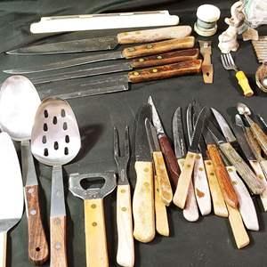 Lot # 70 Vintage Wooden Handles