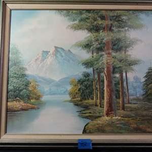 Lot # 72 Retail Appraisal $150 Painting See Below