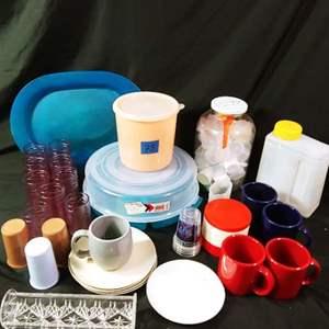 Lot # 75 Melamine & Plastics