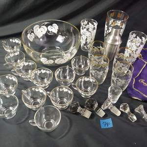 Lot # 76 MCM Bar & Stoppers
