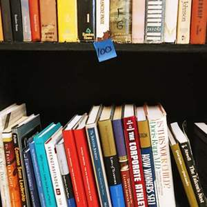 Lot # 100 Team Building & Vintage Books