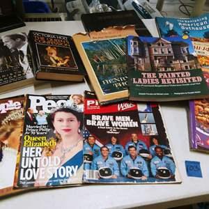 Lot # 103 Vintage Queen Books, Magazines & More