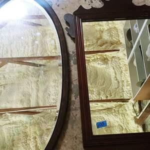Lot # 105 Antique Mirrors