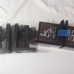 Lot # 115 Bookends