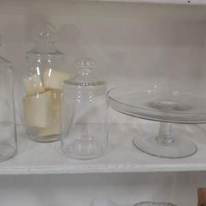 Lot # 125 All Clear Glass