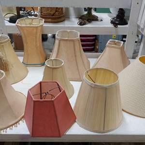 Lot # 155 Mixed Lamp Shades