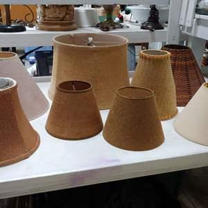 Lot # 156 Lamp Shades