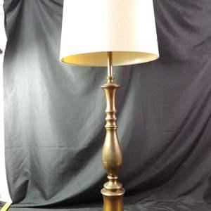 Lot # 169 MCM Brass Lamp