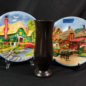 Lot # 191 Hand Painted Plaster