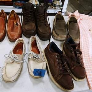 Lot # 197 Men's Shoe Lot