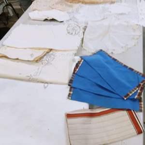 Lot # 204 Vintage Linens