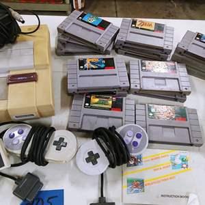 Lot # 205 Super Nintendo 1991