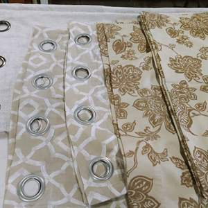 Lot # 212 Beautiful Curtains
