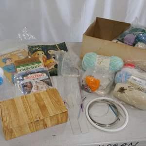 Lot # 216 Crochet Lot