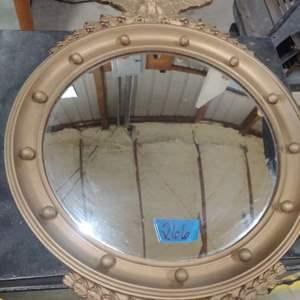 Lot # 266 Vintage Eagle Mirror