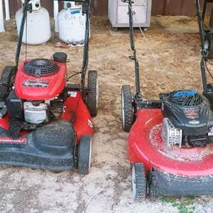 Lot # 273 2 Push Mowers For Parts