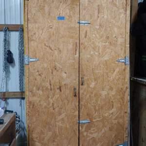 Lot # 279 Large Cabinet