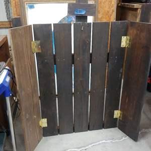 Lot # 281 Wood Display Board See below