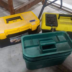 Lot # 292   3 Tool Boxes