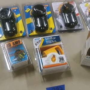 Lot # 297 Replacement Handles & Battery Switch