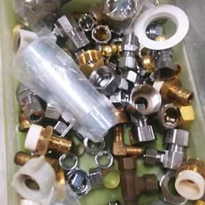 Lot # 301 Plumbing fittings & Couplings