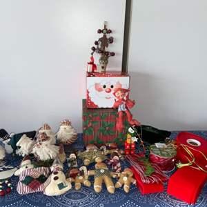 Lot # 3 Annalee Elf on the Shelf 1993, Vintage Christmas Decor & More