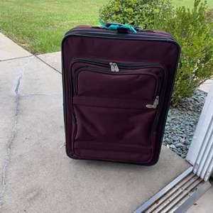 Lot # 13 Travel Gear Suitcase