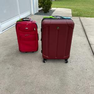 Lot # 14 Light Weight Suitcase & Carry on Bag