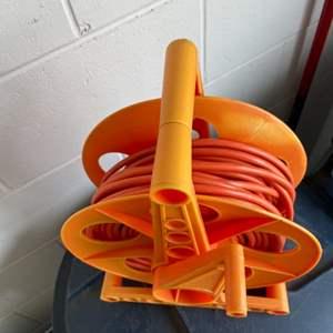 Lot # 15 Extension Cord & Reel Holder