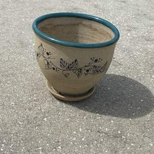 """Lot # 22 Gorgeous Great Bay Pottery Planter 7"""""""